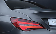 Mercedes benz cla 200 specs - Tail lights